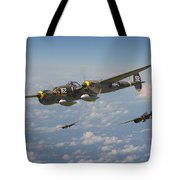 P38 Lightning - Pacific Patrol Tote Bag