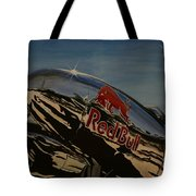 P38 Red Bull Lightning Warbird Tote Bag