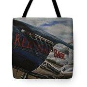 P51 Mustang Kentucky Babe Warbird Tote Bag