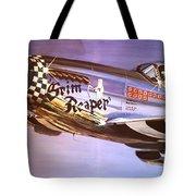 P51d Mustang Grim Reaper Warbird Tote Bag