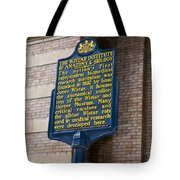 Pa-129 The Wistar Institute Of Anatomy And Biology Tote Bag
