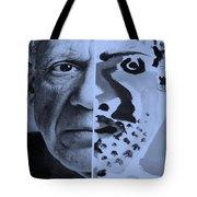 Pablo Cyan Tote Bag