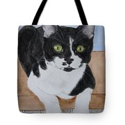 Pablo The Cat Tote Bag
