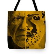Pablo Orange Tote Bag