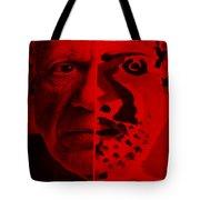 Pablo Red Tote Bag