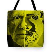 Pablo Yellow Tote Bag