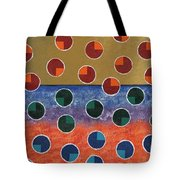 Pacman Zombies Awaking At Sun-rise Tote Bag