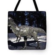Pachycephalosaurus Tote Bag