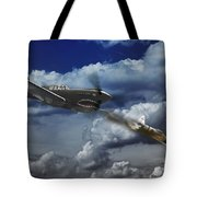 Pacific Battle Tote Bag