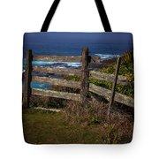 Pacific Coast Fence Tote Bag