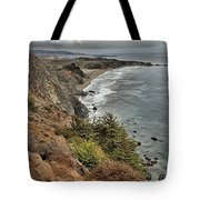 Pacific Coast Storm Clouds Tote Bag