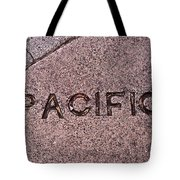Pacific Concrete Street Sign Tote Bag