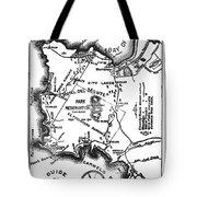 Pacific Grove And Vicinity  Monterey Peninsula California  Circa 1880 Tote Bag
