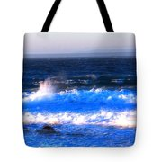 Pacific Grove Surf 19806 Tote Bag