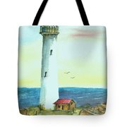 Pacific Lighthouse Tote Bag