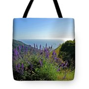 Pacific Lupines Tote Bag