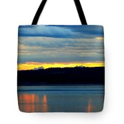 Pacific Northwest Morning Tote Bag