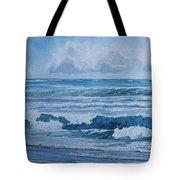 Pacific Rhythms  Tote Bag