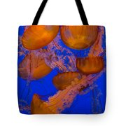 Pacific Sea Nettle Cluster 2 Tote Bag
