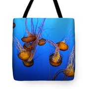 Pacific Sea Nettles Tote Bag