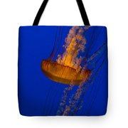 Pacific Sea Nettles In A Row Tote Bag