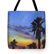 Pacific Sunset 2 Tote Bag