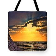 Pacific Sunset By Diana Sainz Tote Bag
