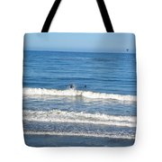 Pacific Surfer Tote Bag