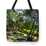 Pacifica Courtyard Tote Bag