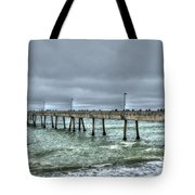Pacifica Fishing Pier 7 V2 Tote Bag