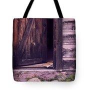 Package By Open Front Door Tote Bag