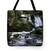 Packer Falls And Creek Tote Bag