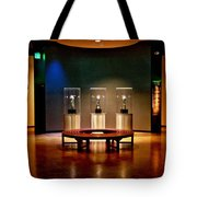 Packer Hall Of Fame Tote Bag by Tommy Anderson
