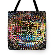 Pacman Gone Awry Tote Bag