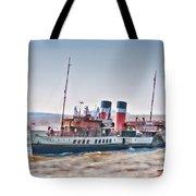 Paddle Steamer Waverley Tote Bag
