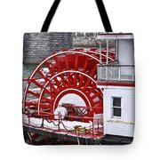 Paddle Wheel Tote Bag by Tom and Pat Cory