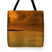 Paddleboarding Tote Bag