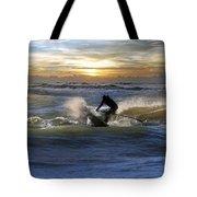 Natutical Jesus Tote Bag