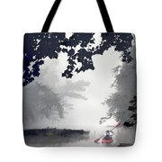 Paddling Towards The Unknown Tote Bag