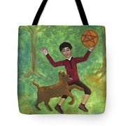 Page Of Pentacles Tote Bag