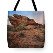 Page Sunrise Rock Tote Bag