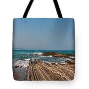 Pages Into The Sea No1 Tote Bag