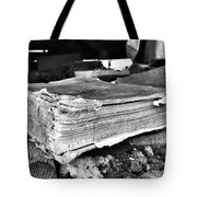 Pages Of Presence  Tote Bag