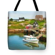 Peggy's Cove Boat Tours Tote Bag