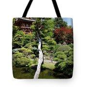 Pagoda On The Lake Tote Bag