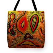 Pain And Agony Tote Bag