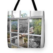 Pains Of Time Tote Bag