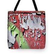 Paint Abstract Tote Bag