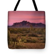 Paint It Pink Sunset  Tote Bag