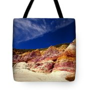 Paint Mines Beauty Tote Bag